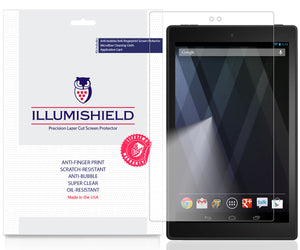 Amazon Fire HD 10 [2019, 9th Generation] [2-Pack] iLLumiShield Clear Screen Protector
