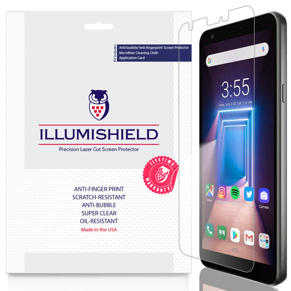 LG LG Aristo 4+ Plus [3-Pack] iLLumiShield Clear Screen Protector