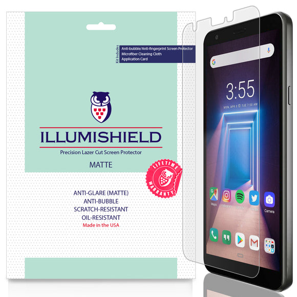 LG LG Aristo 4+ Plus [3-Pack] iLLumiShield Matte Anti-Glare Screen Protector