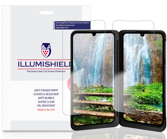 LG G8X ThinQ  iLLumiShield Clear screen protector