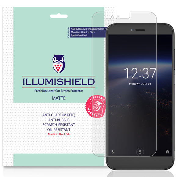 Coolpad Legacy S [3-Pack] iLLumiShield Matte Anti-Glare Screen Protector