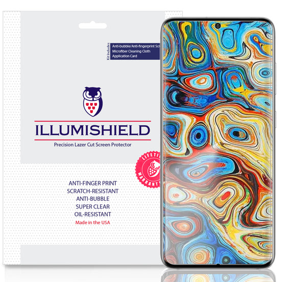 Samsung Galaxy S20 Plus [S20+ 6.7 inch] [3-Pack] iLLumiShield Clear Screen Protector