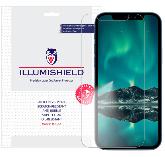 Apple iPhone 12 Pro 6.1 inch iLLumiShield Clear screen protector