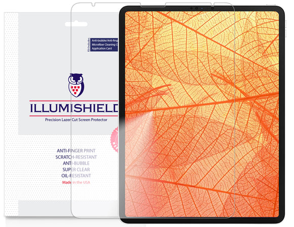 Apple iPad Pro 12.9 [2020] [2-Pack] iLLumiShield Clear Screen Protector