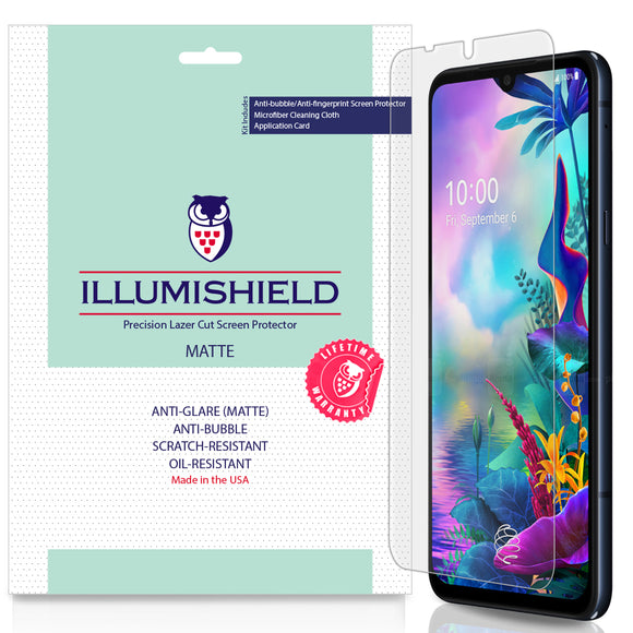LG G8X ThinQ  iLLumiShield Matte screen protector