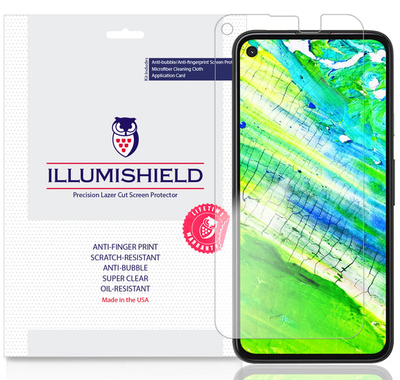 Google Pixel 4a [5.81-inch] [3-Pack] iLLumiShield Clear Screen Protector