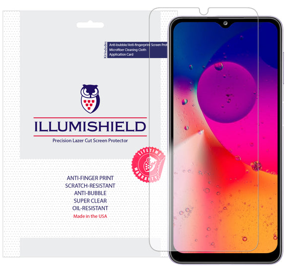 Samsung Galaxy A32 [6.5 inch] [3-Pack] iLLumiShield Clear Screen Protector