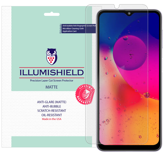 Samsung Galaxy A32 [6.5 inch] [3-Pack] iLLumiShield Matte Anti-Glare Screen Protector