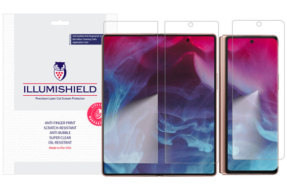 Samsung Galaxy Z Fold2 5G iLLumiShield Clear screen protector
