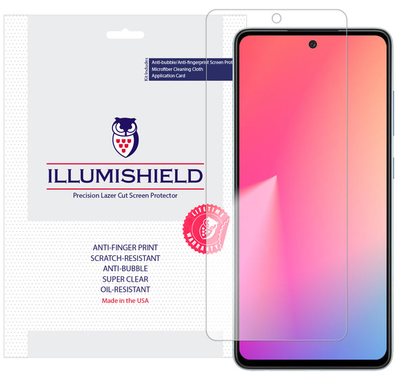 Samsung Galaxy A52 5G [3-Pack] iLLumiShield Clear Screen Protector