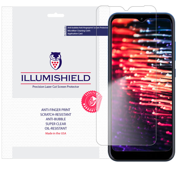 AT&T Radiant Max [3-Pack] iLLumiShield Clear Screen Protector