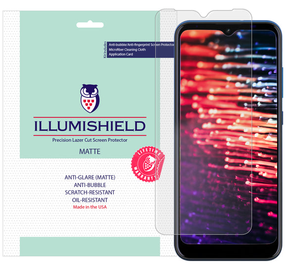 AT&T Radiant Max [3-Pack] iLLumiShield Matte Anti-Glare Screen Protector