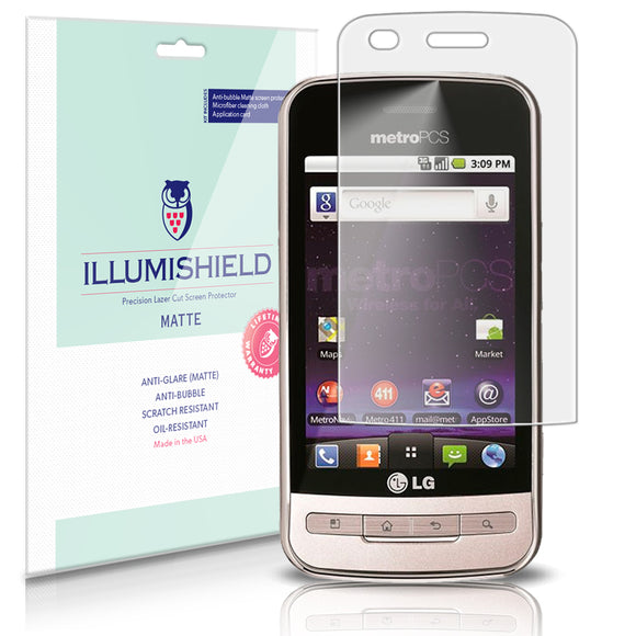 LG Optimus M Cell Phone Screen Protector
