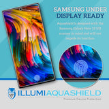 Samsung Galaxy Note 10 [6.3 inch Display] [2-Pack] ILLUMI AquaShield [Case Friendly Version 2] Screen Protector