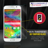 HTC One M9 iLLumiShield Tempered Glass Screen Protector [2-Pack]