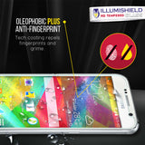 ZTE Quartz iLLumiShield Tempered Glass Screen Protector [3-Pack]