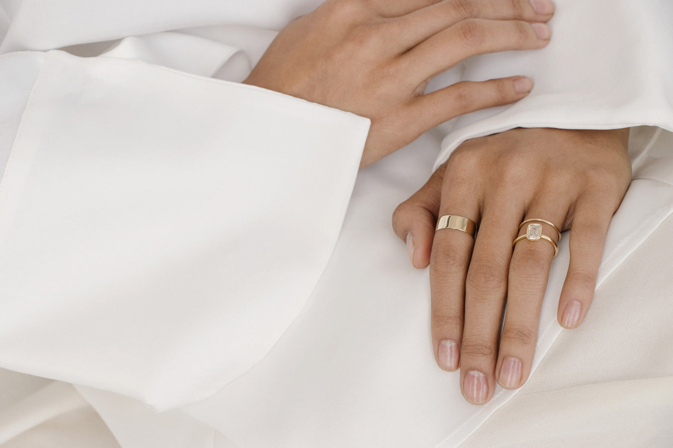 Finally We Redefined The Ring Thoughtfully Considering Every Detail To Create A Simple And Timeless Design One That Integrates Seamlessly Into Your