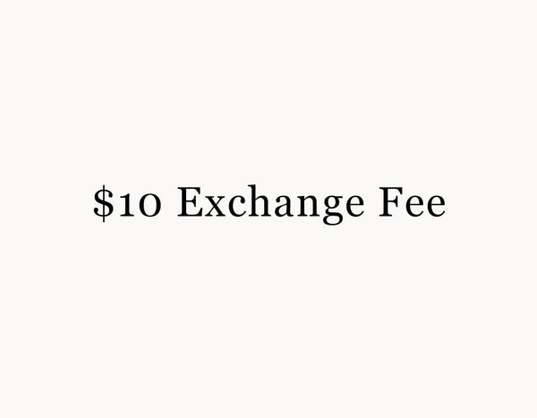 Exchange Fee