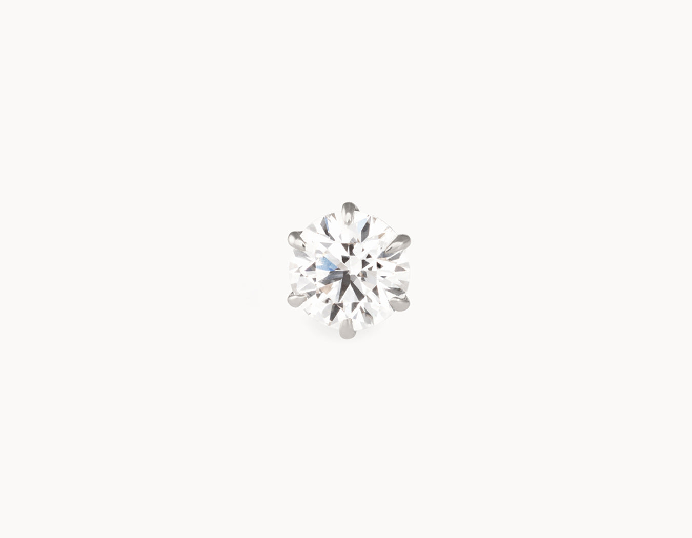 1/2ct Round-Brilliant Diamond Studs