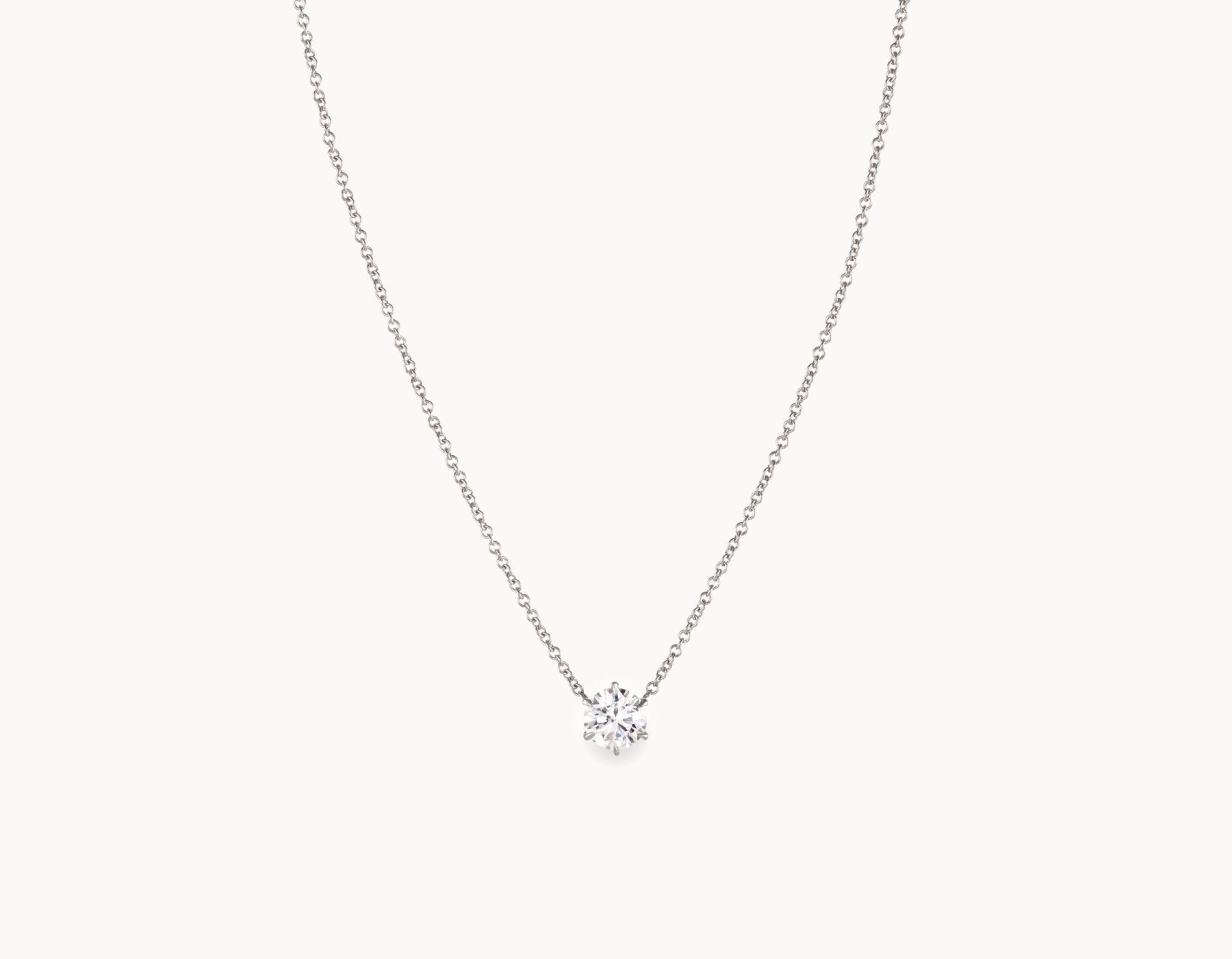 collections solitaire necklace lugaro canadiandiamond carat pearshape shape pear canadian diamond