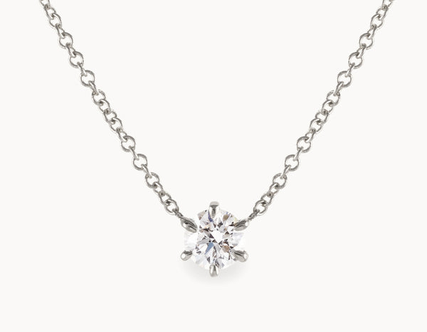 1/4ct Round-Brilliant Diamond Necklace