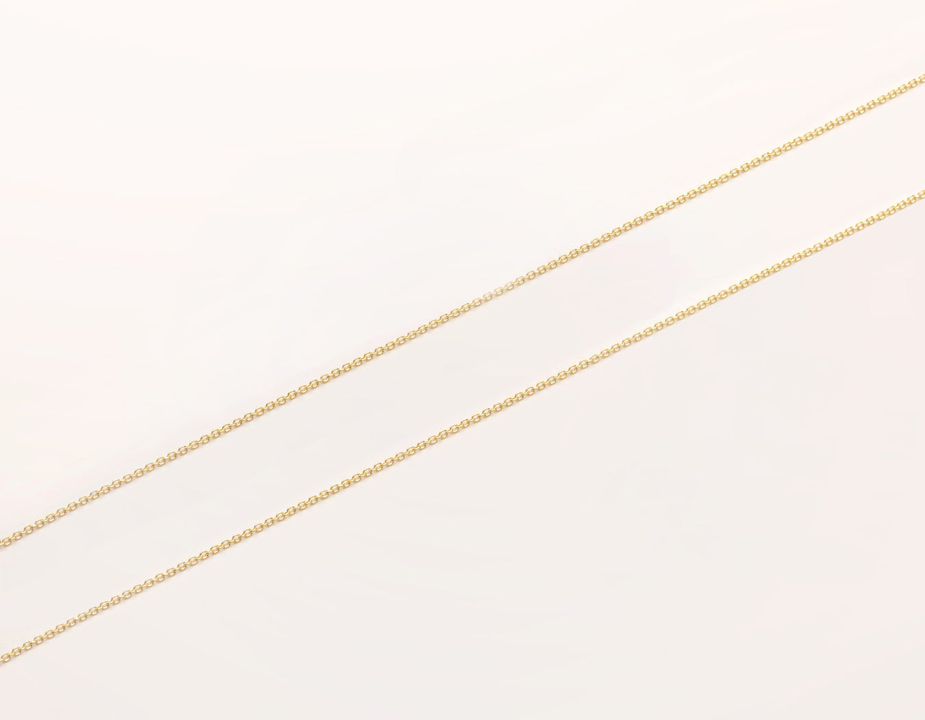 Vrai and Oro Oval Link Chain 14k Solid yellow gold