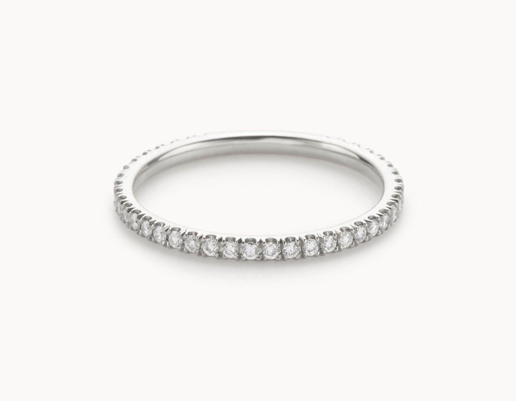 white diamonds collections oro bands wg vrai wedding vow gold eternity band the infinity minimal