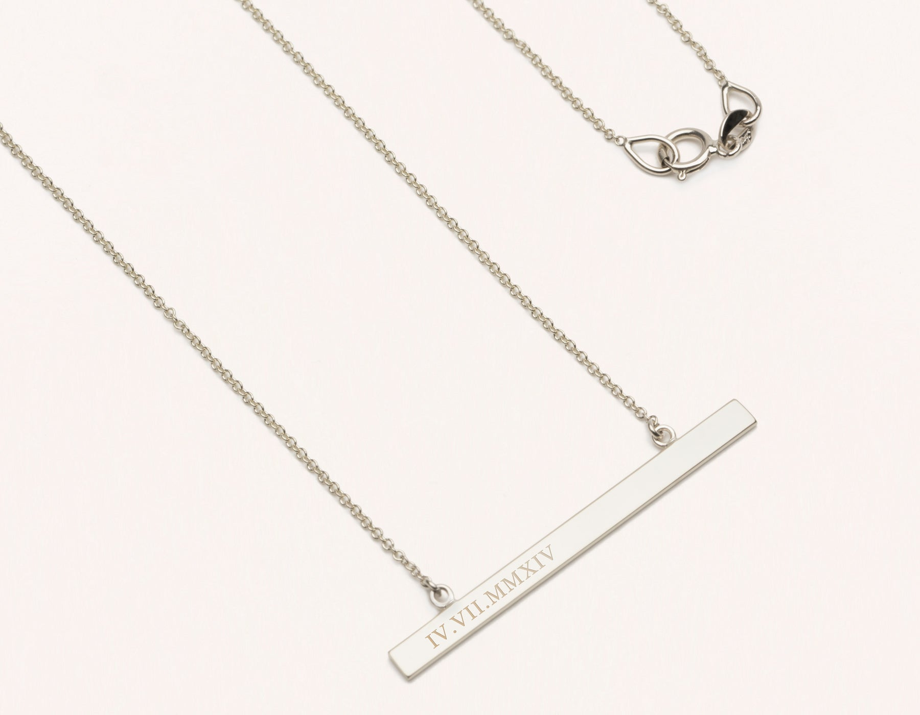 necklace dot cotton cord brass minimal grande florence products