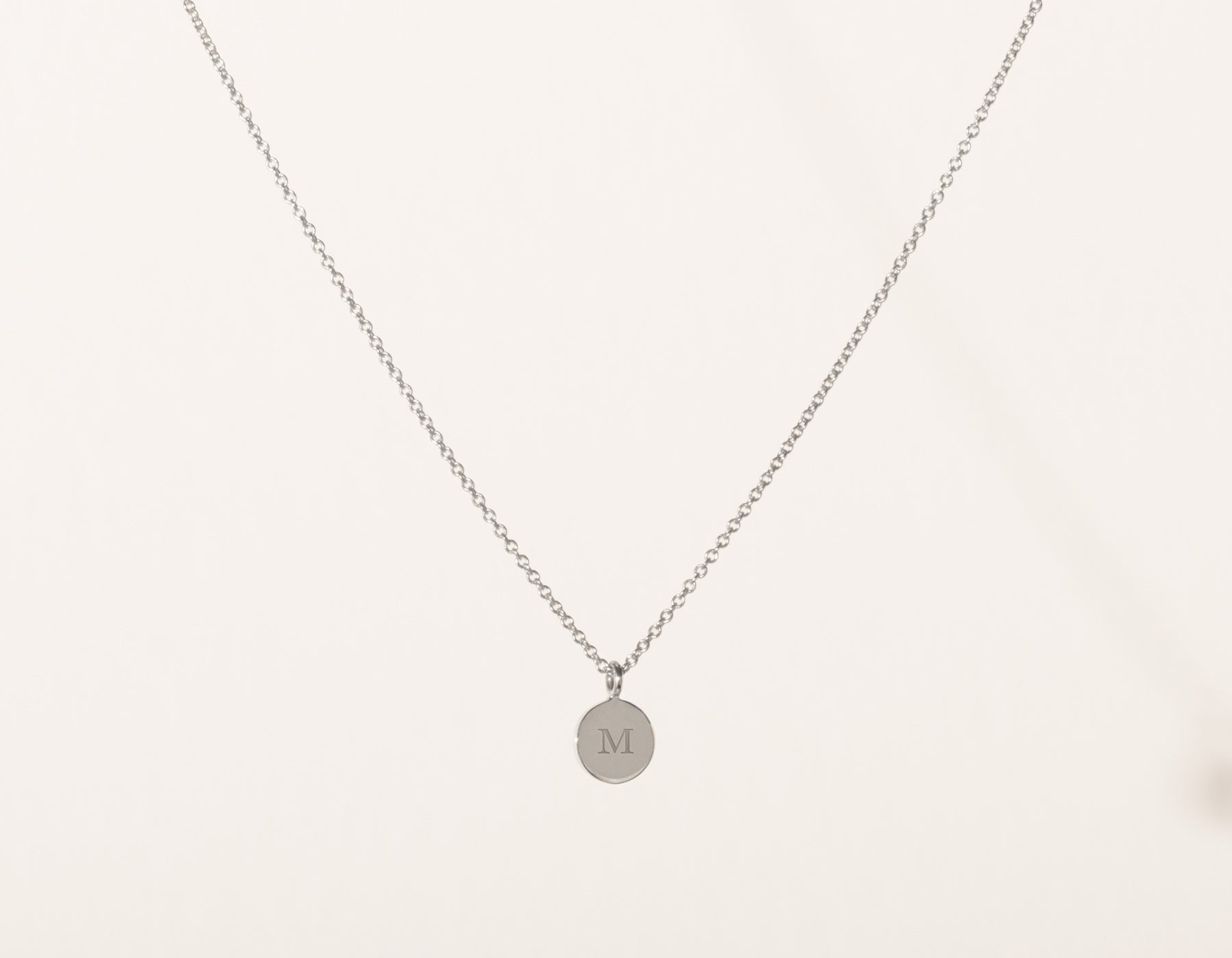 auree with disc on engraved initial a jewellery white necklace pendant gold westbourne chain