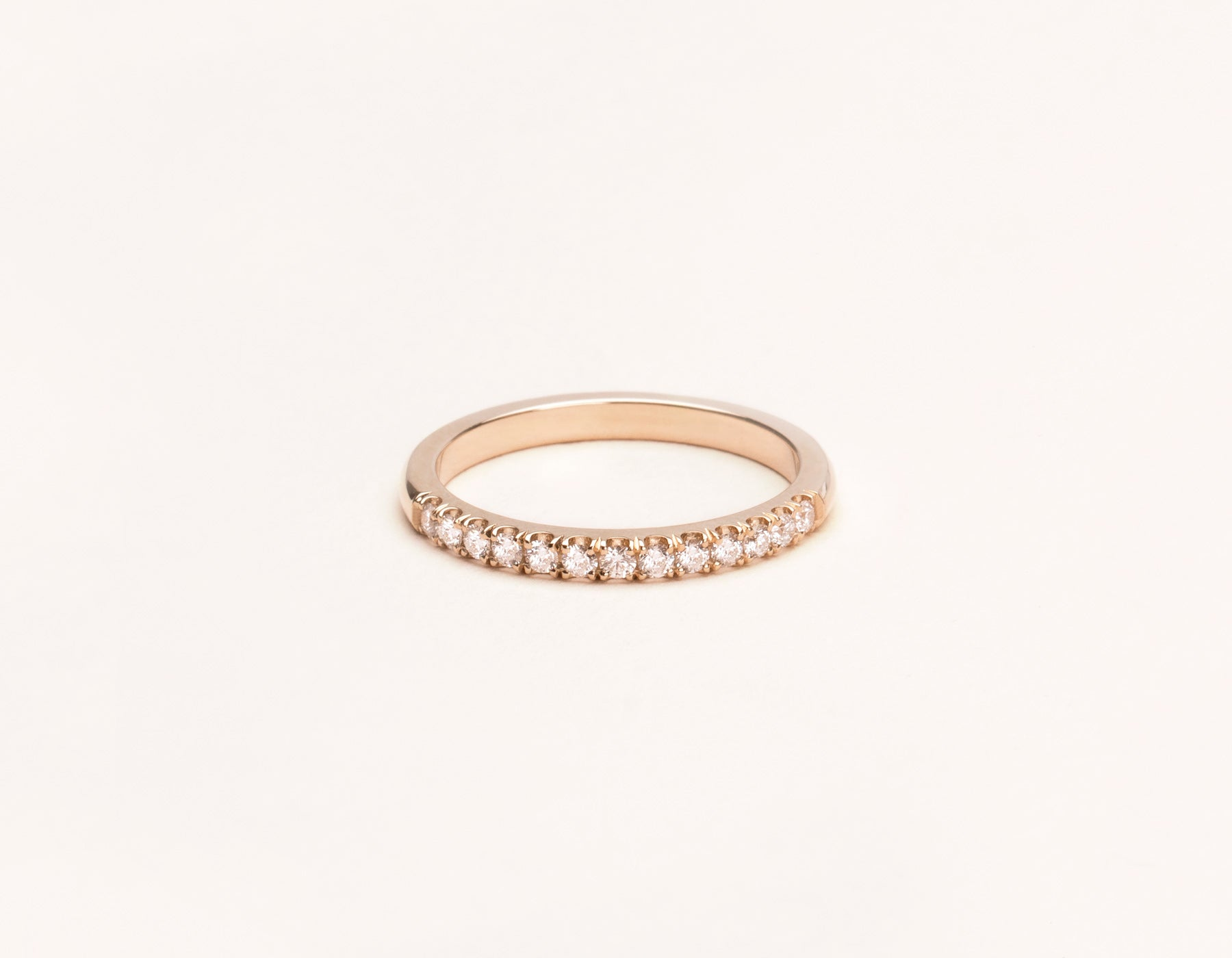 plated gold simply rings sterling silver pave zoom ring band jewellery intertwining bands rose zirconia cubic infinity
