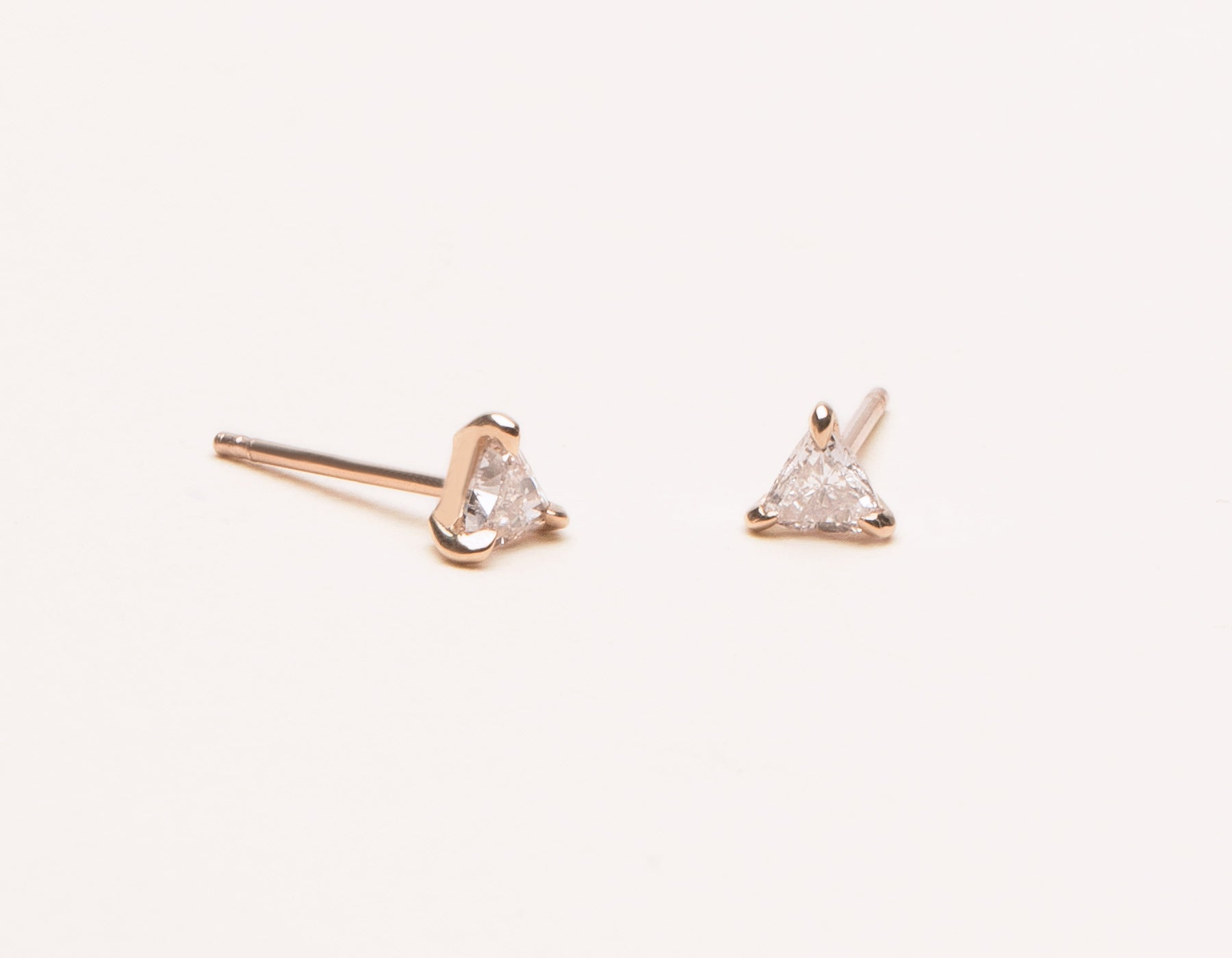 bar handmade rbvahfboo stainless gold earring simple earrings steel studs delicate square rose product stud minimalist staple