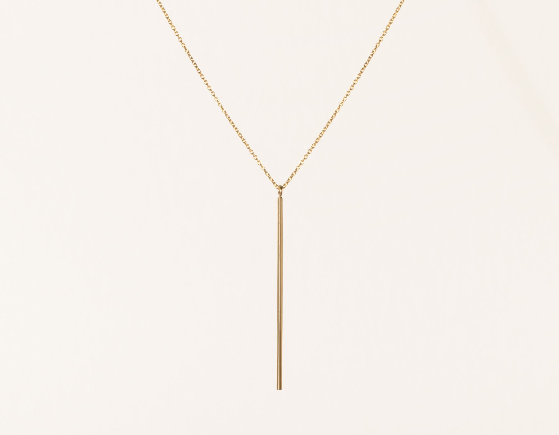 ef vertical necklace jewelry collection product gold diamond lyst in pendant goldclear gallery normal bar clear