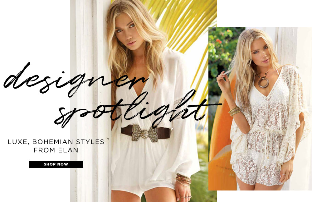 Designer Spotlight: Luxe, Bohemian Styles from Elan - Shop Now