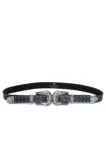 B-Low The Belt Baby Bri Bri in Studded Silver - Studded Silver