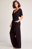 Womens Black Hey Girl Hey Jumpsuit 2