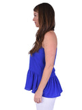 Womens Royal Blue Nicole Top 2
