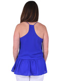 Womens Royal Blue Nicole Top 4