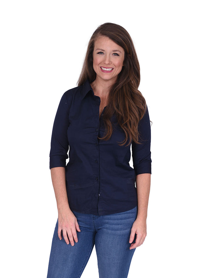 Game Changer Top - Navy