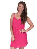 Womens Pink Abby Dress