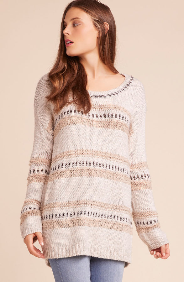 Womens Ivory Spice Of Life Sweater