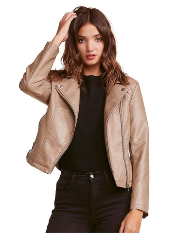 Womens Wolf Brown Doin' It Right Jacket