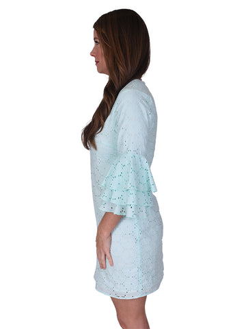 Womens Aqua Reef Nettie Dress 2 Alternate View