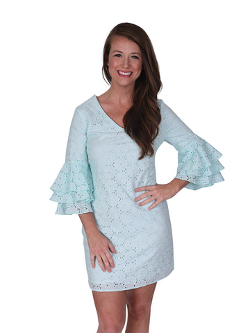 Womens Aqua Reef Nettie Dress
