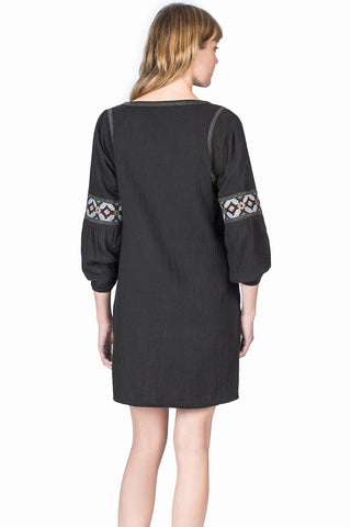 Womens Black Shift Dress 2 Alternate View