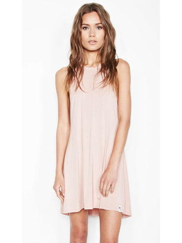 Michael Lauren Scotty High Neck Mini Dress - Enchant