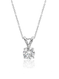 Hollywood Glam Grand CZ Pendant Necklace