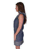 Womens Indigo Moorpark Dress 2