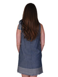 Womens Indigo Moorpark Dress 4