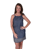 Womens Indigo Moorpark Dress
