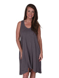 Womens Slate Hilo Tank Dress